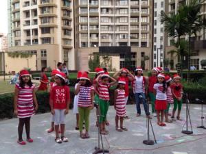 Kids carol singing - Credit: Smita Vyas Kumar